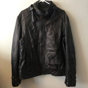 Black rock republic leather jacket
